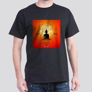Buddha on mysical background T-Shirt