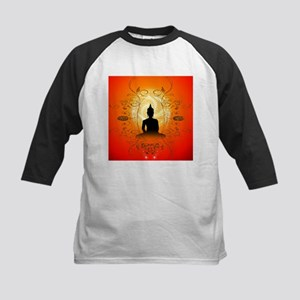 Buddha on mysical background Baseball Jersey