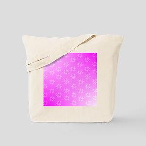 Retro Tuna Star Pattern  Pink. Fish Tuna  Tote Bag