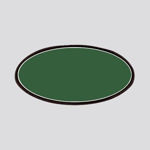 Solid Hunter Green Patch