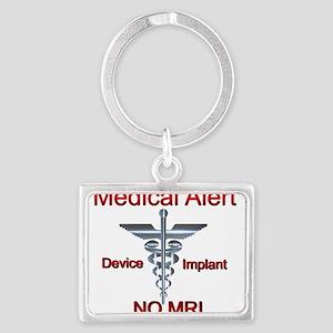 Medical Alert Device Implant NO MRI Ascl Keychains