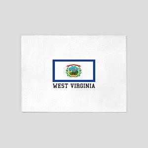 West Virginia 5'x7'Area Rug