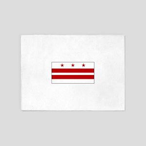 Washington D. C., USA 5'x7'Area Rug