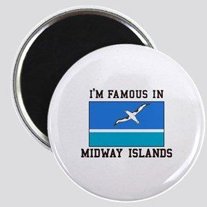 Famous Midway Islands Magnets