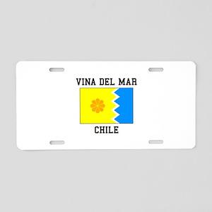 Vina del Mar, Chile Aluminum License Plate