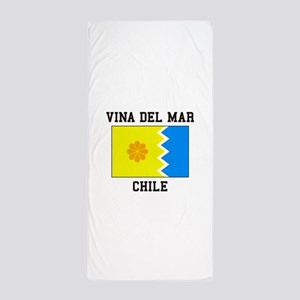 Vina del Mar, Chile Beach Towel