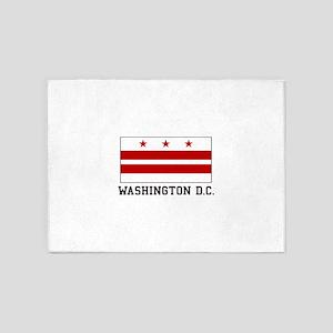 Washington D. C. 5'x7'Area Rug
