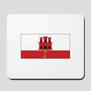 Gibraltar Flag Mousepad