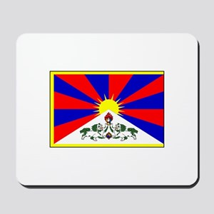 Tibet Flag Mousepad