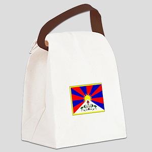 Tibet Flag Canvas Lunch Bag