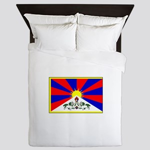 Tibet Flag Queen Duvet