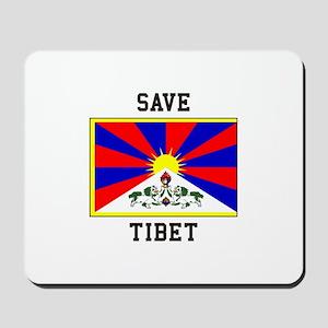 Save Tibet Mousepad