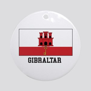 Gibraltar Ornament (Round)