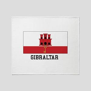 Gibraltar Throw Blanket