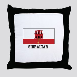 Gibraltar Throw Pillow