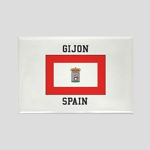 Gijon, Spain Magnets