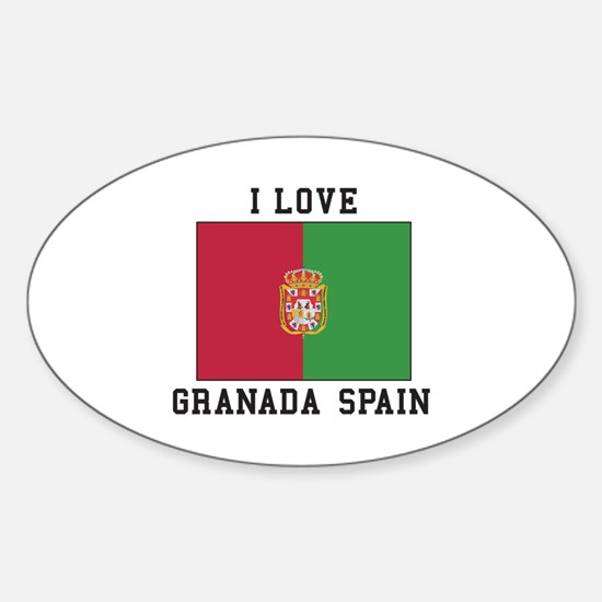 I Love Granada Decal