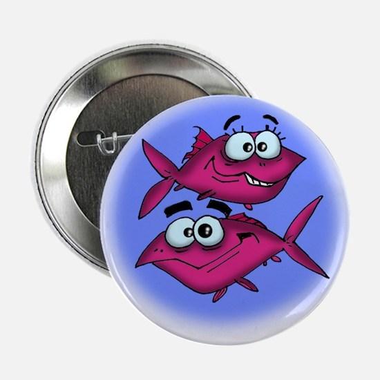 Pisces Cartoon Button