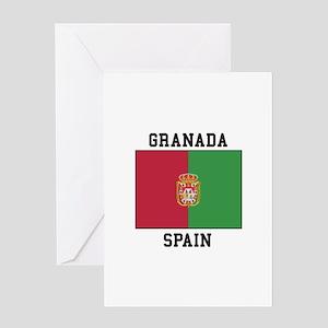Granada Spain Greeting Cards