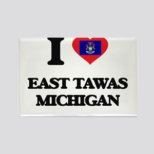 I love East Tawas Michigan Magnets