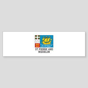 Saint Pierre and Miquelon Bumper Sticker