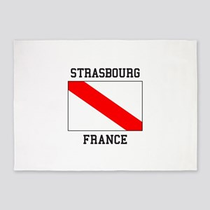 Strasbourg, France 5'x7'Area Rug