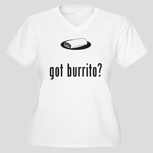 Burrito Women's Plus Size V-Neck T-Shirt