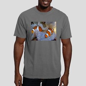 Clown Fish Coral Reef Geometric T-Shirt