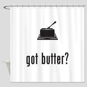 Butter Shower Curtain