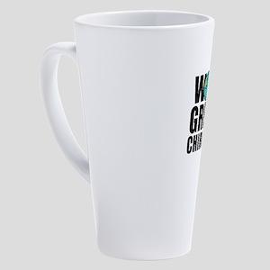 World's Greatest Chiropractor 17 oz Latte Mug
