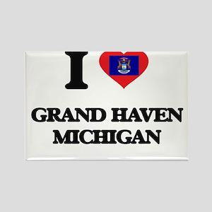 I love Grand Haven Michigan Magnets