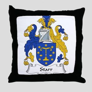 Starr Family Crest Throw Pillow