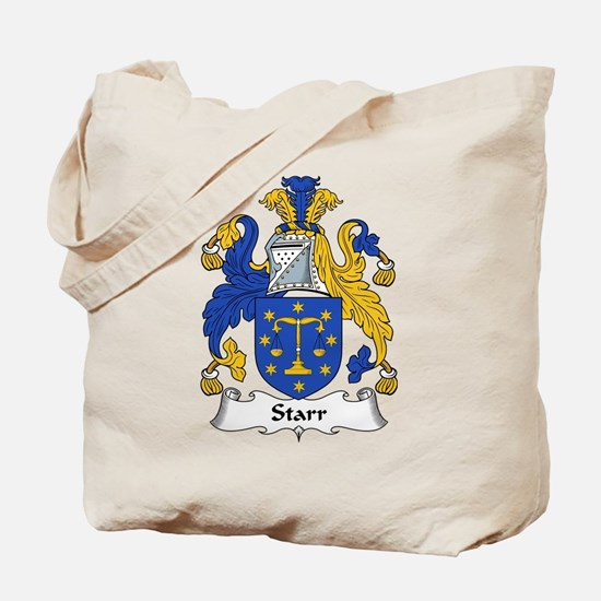 Starr Family Crest Tote Bag