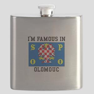 Famous in Olomouc Flask