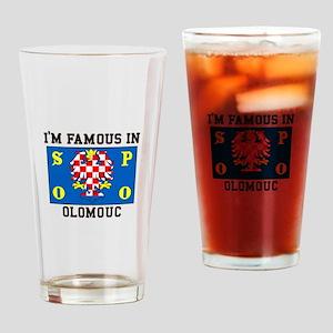 Famous in Olomouc Drinking Glass