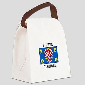I Love Olomouc Canvas Lunch Bag