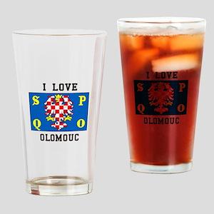 I Love Olomouc Drinking Glass