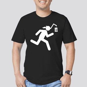Chips Men's Fitted T-Shirt (dark)