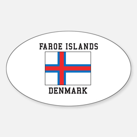 Faroe Islands Denmark Decal