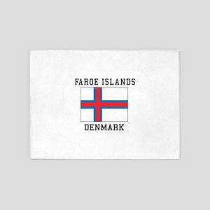 Faroe Islands Denmark 5'x7'Area Rug