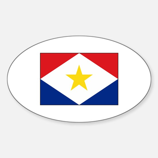 Saba Flag Decal