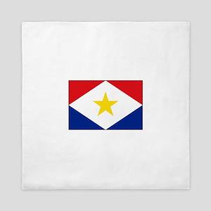 Saba Flag Queen Duvet