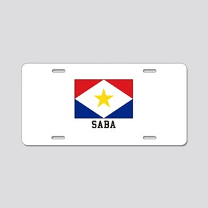 SABA Aluminum License Plate
