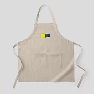 "Pennat Flag Number ""5"" Apron"