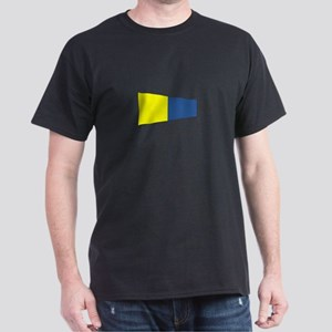 "Pennat Flag Number ""5"" T-Shirt"
