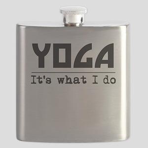 Yoga Its What I Do Flask