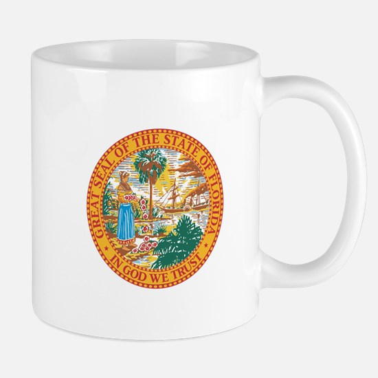 Florida State Seal Mugs