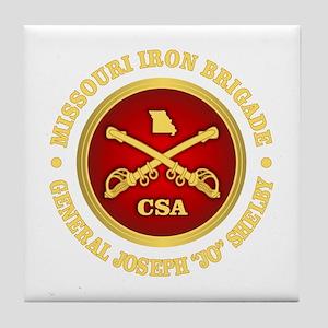 Missouri Iron Brigade Tile Coaster
