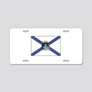 Fortaleza Brazil Flag Aluminum License Plate