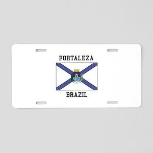Fortaleza Brazil Aluminum License Plate